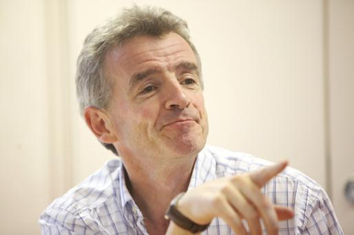 Share sale: Ryanair chief Michael O'Leary. Photo: Bloomberg News