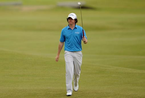McIlroy, No 8 in the world, starts the Irish Open as the top-ranked player in the tournament. Photo: Getty Images