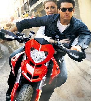 Cruise and Cameron Diaz in action romp Knight and Day