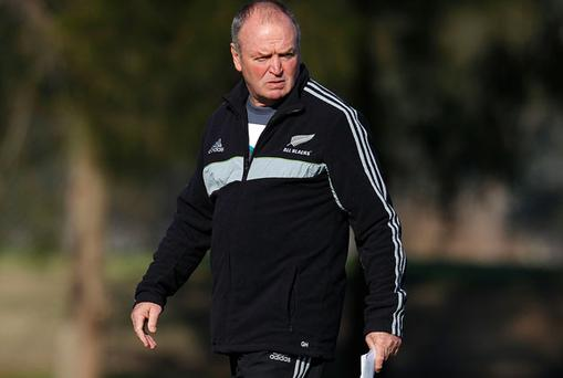 All Blacks coach Graham Henry. Photo: Getty Images