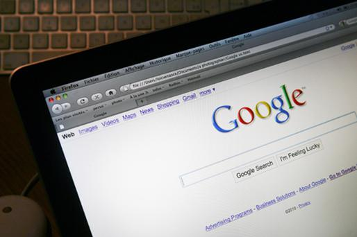 Google gets $28bn a year in revenue from selling advertising alongside search results. Photo: Getty Images