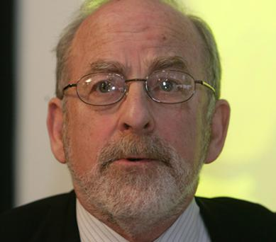 Governor of the Irish Central Bank, Patrick Honohan. Photo: Collins