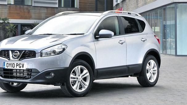 Good fit: The Nissan Qashqai's engine is well-matched to the size of the vehicle