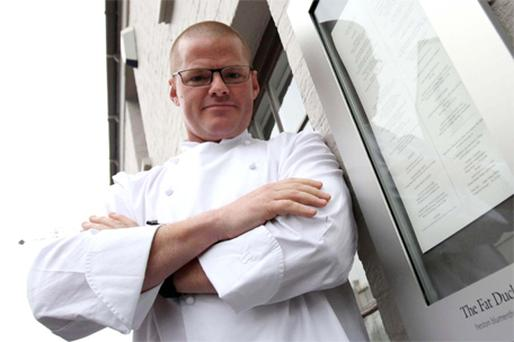MEMORABLE MENU: Chef Heston Blumenthal is fascinated by the role played by emotional responses when we eat