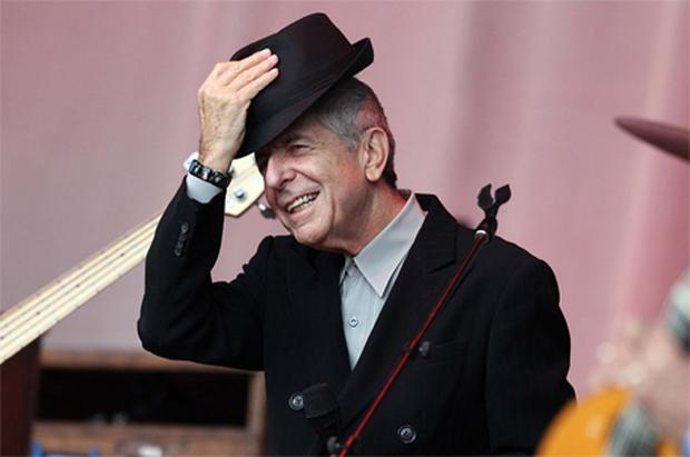 Back on Boogie Street: Cohen salutes the crowd in Lissadell at the weekend