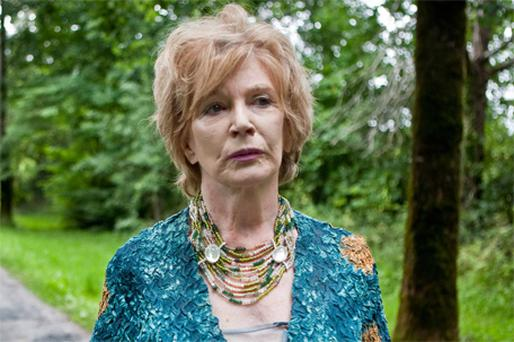 Edna O'Brien paid a visit to her birthplace at Tuamgraney, Co Clare, during the Scarriff festival on Saturday