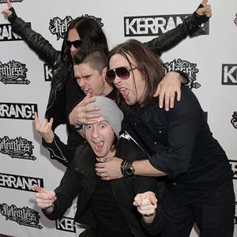 Bullet For My Valentine won two Kerrang! awards