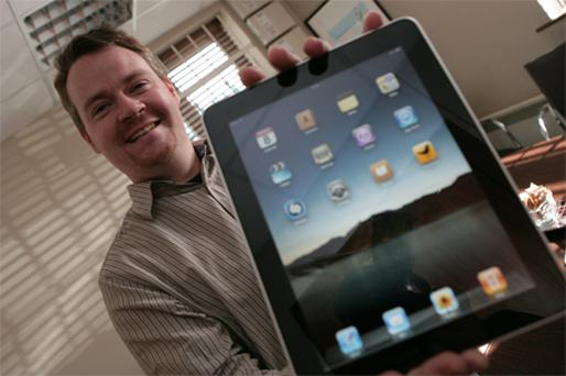 An apple a day.... Ronan Price gets to grips with the iPad