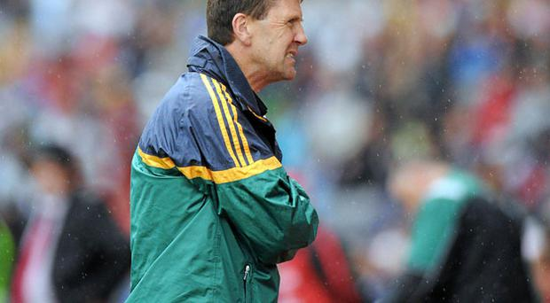 Kerry manager Jack O'Connor has plenty to ponder after his team's defeat to Down last Saturday. Photo: Brian Lawless / Sportsfile