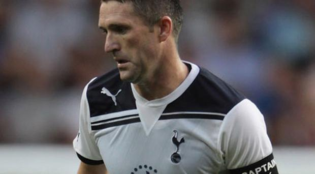 Robbie Keane is reported to have picked up a knee problem. Photo: Getty Images