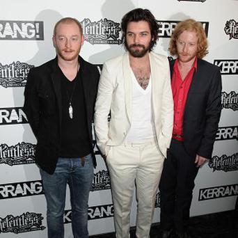 Biffy Clyro frontman Simon Neil lost his wedding ring on a shoot