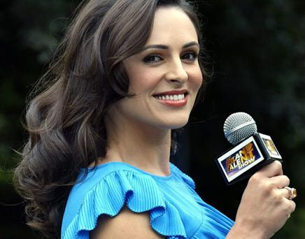 Grainne Seoige at the launch of the new series of 'Ireland's Got Talent' in RTE yesterday. Photo: Martin Nolan