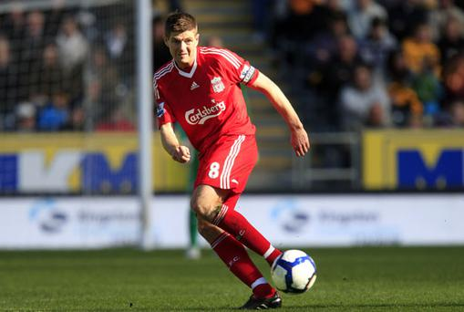 Steven Gerrard. Photo: Getty Images