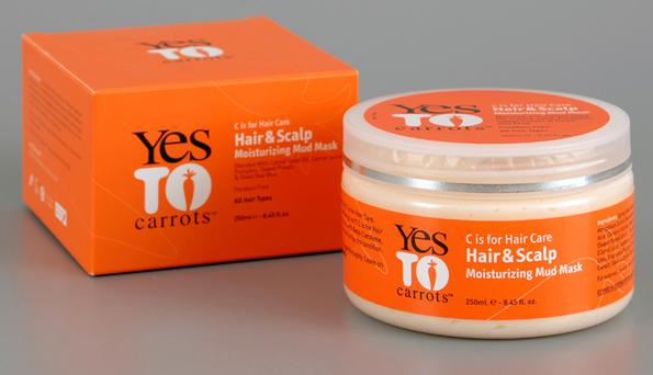 Yes to carrots scalp moisturising mud mask