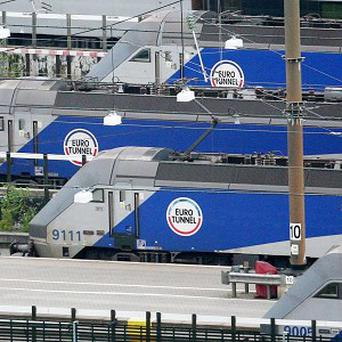 Twenty Eurotunnel passengers travelled to France and back again without being allowed off their train