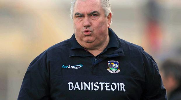 Joe Kernan confirmed he had been willing to stay on for another year as Galway manager.