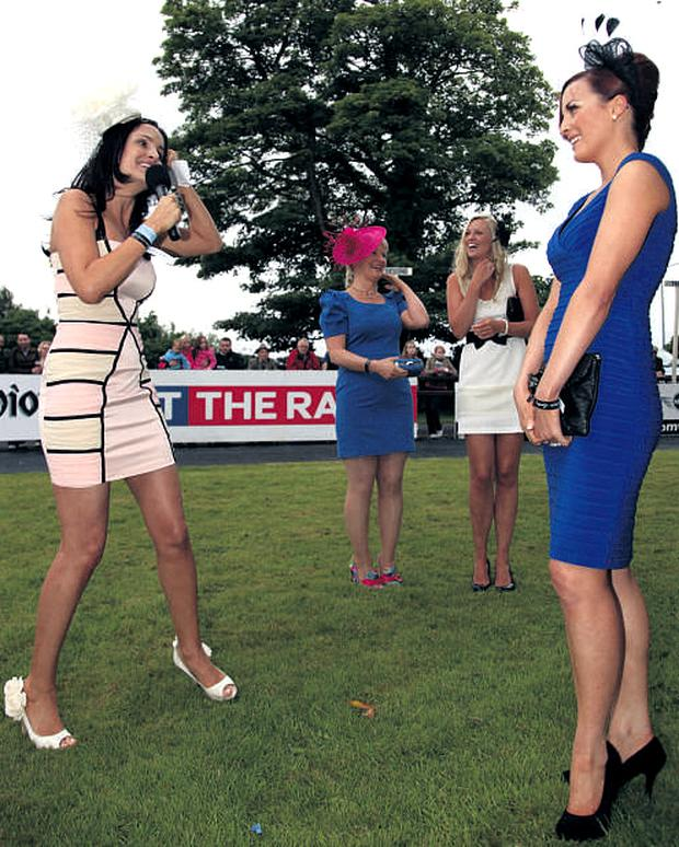 Beautician Gayle Kelly took the Best Dressed honours at the Sligo Races