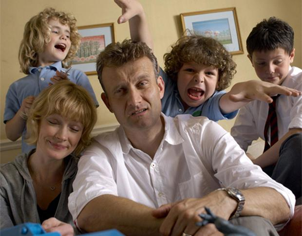 KIDDING AROUND: The cast of BBC's Outnumbered