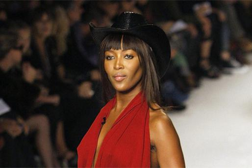Model Naomi Campbell attended a dinner hosted by Nelson Mandela where she was given diamonds