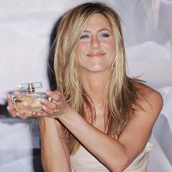Jennifer Aniston was kissed by Barbra Streisand at a party
