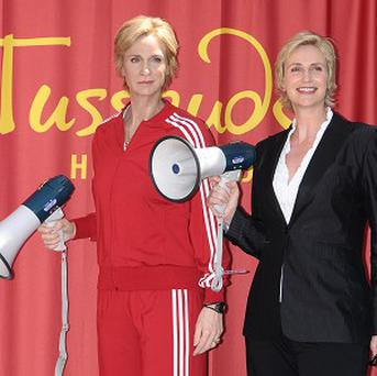 Jane Lynch revealed her thoughts on her waxwork and Sir Paul McCartney