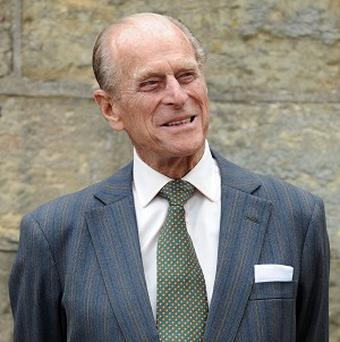 A Scotsman had the privilege of standing in for the Duke of Edinburgh