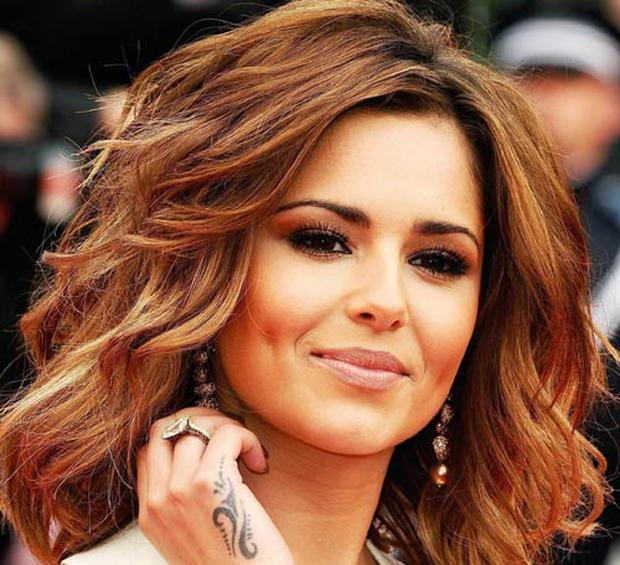 Cheryl Cole is a fan of the contoured cheekbone look