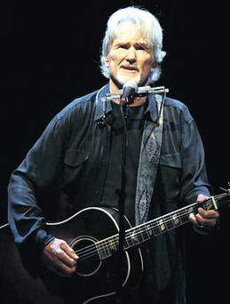 Singing from the same hymn sheet: Kris Kristofferson