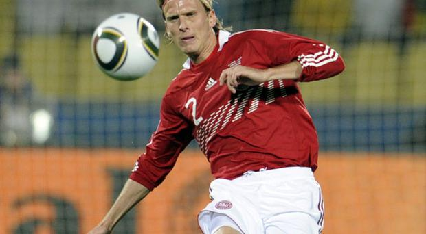 Christian Poulsen edges nearer completing a move from Juventus. Photo: Getty Images