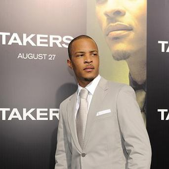 TI doesn't think there's competition between rapper-turned-actors