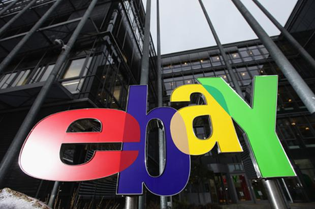 EBay: boosted by holiday shopping and the sale of its Skype. Photo: Getty Images