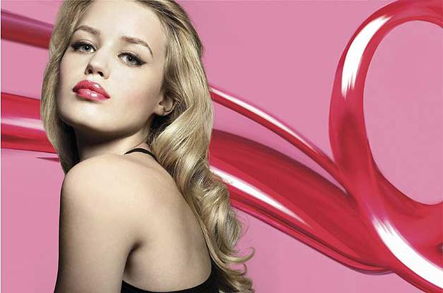 Georgia May Jagger is the face of Rimmel's Vinyl Gloss