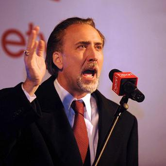 Nicolas Cage says he believes in magic