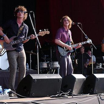 The Zutons have had to pull out of the festival