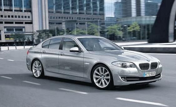 SUPREMELY CONFIDENT: But the BMW 5 Series will never be a truly classic car