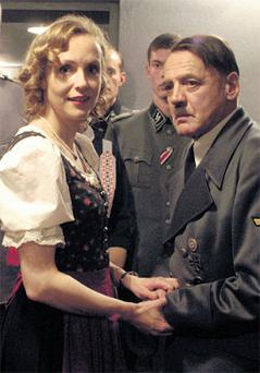 BUNKER: Trevor-Roper pieced together Hitler's final days, as portrayed in 2005 film Downfall.