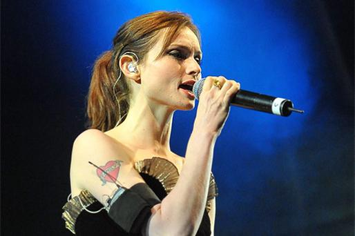Sophie Ellis Bextor woos the revellers gathered at Ballinlough Castle in Westmeath for Europe's first outdoor gay festival