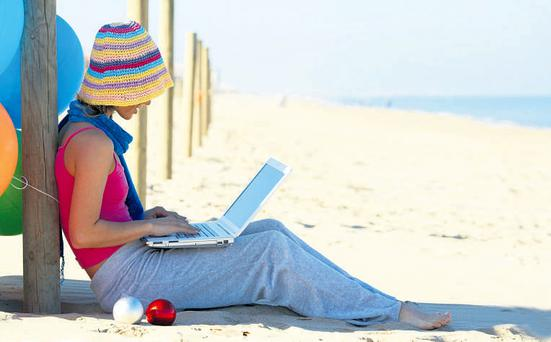 Remote office: Leave your laptop and BlackBerry at home to avoid checking work emails
