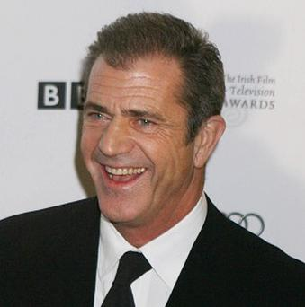Mel Gibson crashed his sports car in Malibu