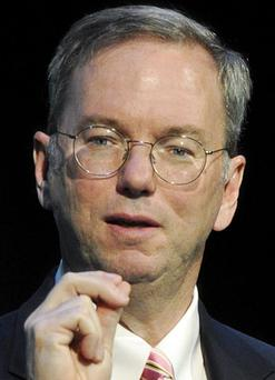 Google CEO Eric Schmidt. Photo: Getty Images