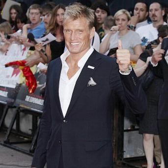 Dolph Lundgren says he's not a dumb blond
