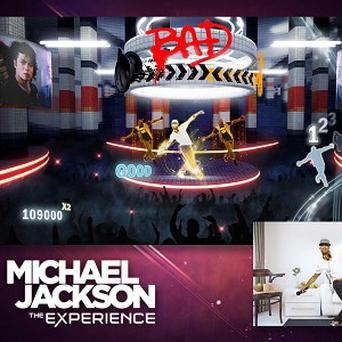 A scene from the 'Michael Jackson The Experience' video game.