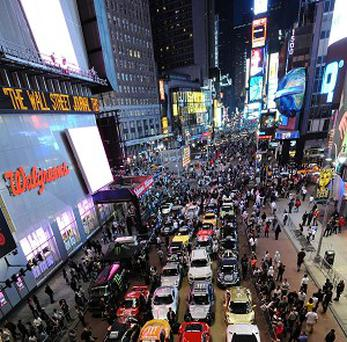 Bedbugs have invaded a popular movie theatre in Times Square, New York.
