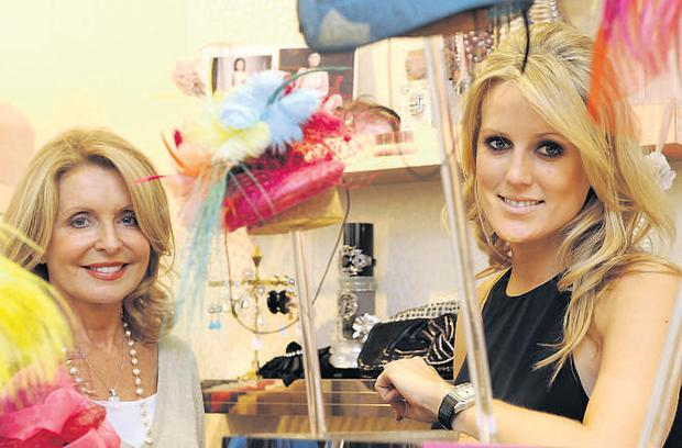 Laura and Fran Nolan in their first British Fran & Jane store on the King's Road, London. LUCY YOUNG