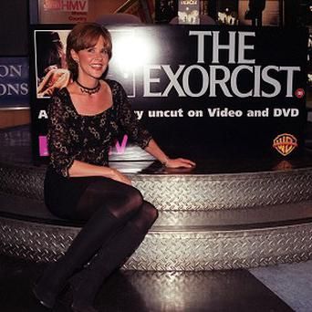 The Exorcist - starring Linda Blair - topped a poll of disturbing movies