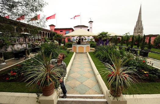 Kensington roof garden. Photo: Getty Images