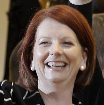 A crocodile has predicted Julia Gillard will be re-elected as Australian Prime Minister