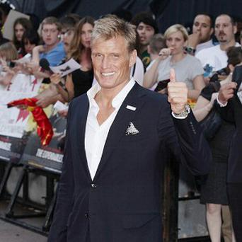 Dolph Lundgren did his own stunts in the film