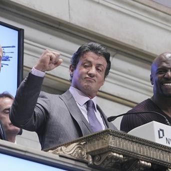 Sylvester Stallone said ringing the opening bell was an honour