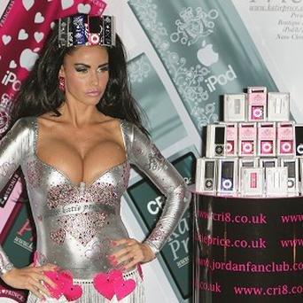 Katie Price has launched her new boutique Ipod range